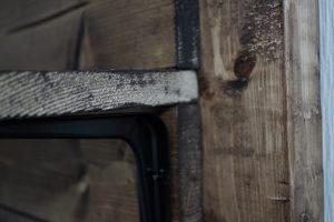 ディアウォールの工夫 木壁