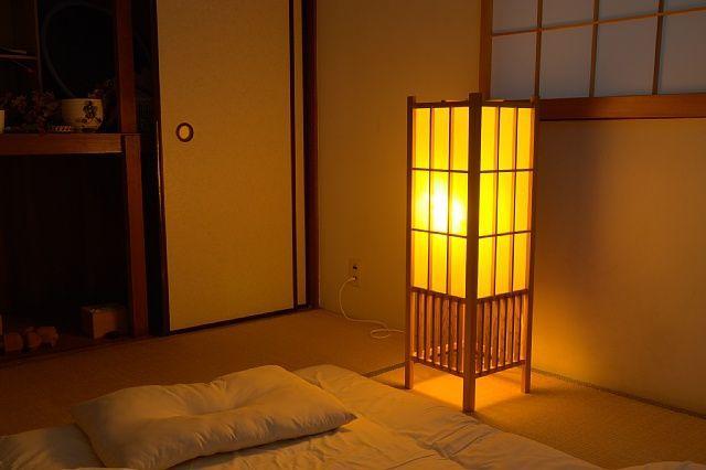 和室 行灯 間接照明