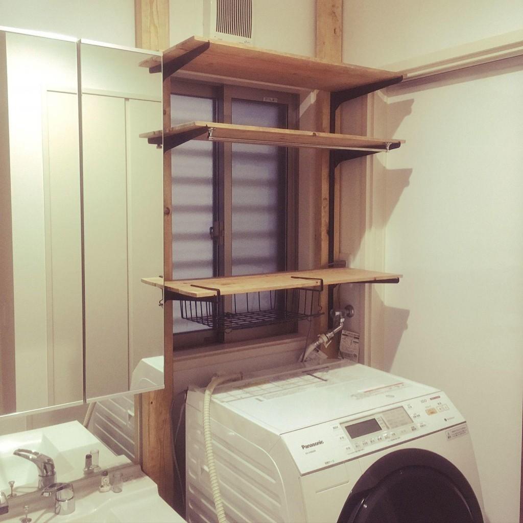 ディアウォール 洗面所 洗濯機
