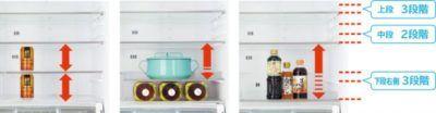 日立 冷蔵庫 収納方法
