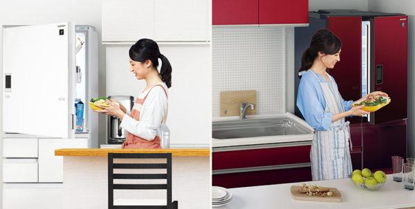 2018人気の冷蔵庫シャープおすすめを他社比較。評判や口コミは?