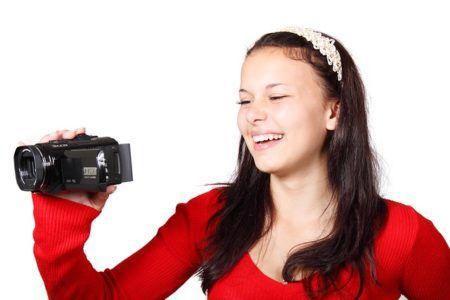 4Kビデオカメラは簡単な操作性がポイント