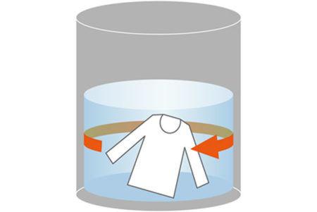 縦型洗濯機はもみ洗い、こすり洗い