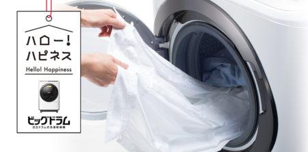 ビッグドラム(ドラム式洗濯機)の特徴