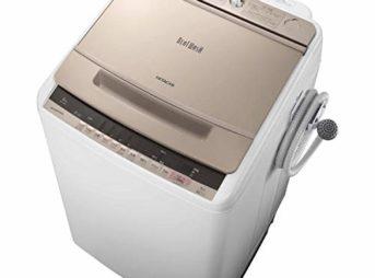 日立の全自動洗濯機BW-V80Cスペック、機能、価格、口コミ・評価