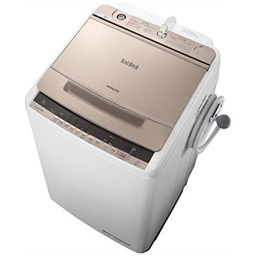 日立の全自動洗濯機BW-V80Eスペック、機能、価格、口コミ・評価