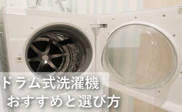 ドラム式洗濯機おすすめランキング2019メーカー別比較と選び方