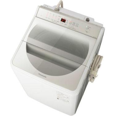 投入口が広く洗浄力が高い、パナソニック全自動洗濯機NA-FA80H7