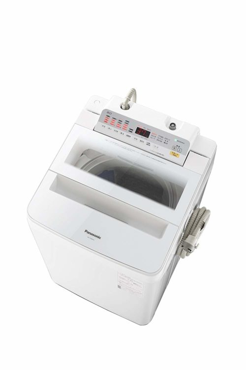 投入口が広く洗浄力が高い、パナソニック全自動洗濯機NA-FA80H6