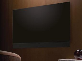 漆黒で大迫力スピーカーTH-55FZ1000は有機ELテレビの中でも高評価