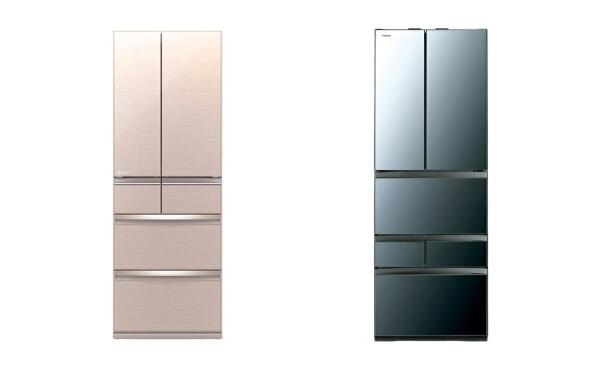 冷蔵庫のドアの配置